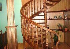 Лестницы из древесины